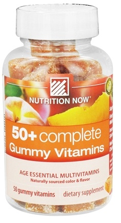 DROPPED: Nutrition Now - 50+ Complete Gummy Vitamins - 50 Gummies CLEARANCE PRICED