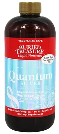 DROPPED: Buried Treasure Products - Quantum Silver - 16 oz.