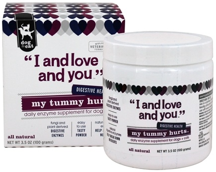 DROPPED: I And Love And You - My Tummy Hurts Daily Digestive Support For Dogs & Cats - 3.5 oz.