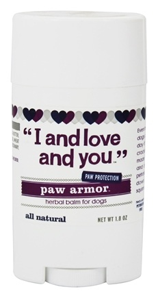 DROPPED: I And Love And You - Paw Armor Herbal Balm For Dogs - 1.8 oz.