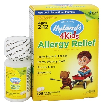 Hylands - 4 Kids Allergy Relief - 125 Tablet(s)