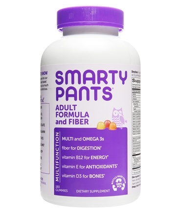 SmartyPants - All-in-One Multivitamin + Omega 3s + Vitamin D For Adults - 180 Gummies