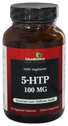 DROPPED: Futurebiotics - 100% Vegetarian 5-HTP 100 mg. - 60 Vegetarian Capsules