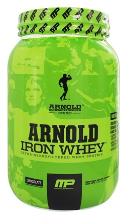 DROPPED: Muscle Pharm - Arnold Schwarzenegger Series Arnold Iron Whey Chocolate - 2 lbs.