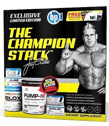 DROPPED: BPI Sports - The Champion Stack - CLEARANCE PRICED