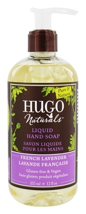 Hugo Naturals - Liquid Hand Soap Calming French Lavender - 12 oz.