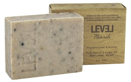 DROPPED: Level Naturals - Bar Soap Frankincense & Myrrh - 6 oz.