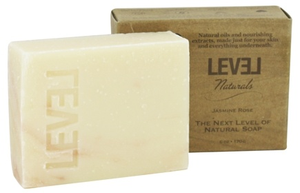 DROPPED: Level Naturals - Bar Soap Jasmine Rose - 6 oz.