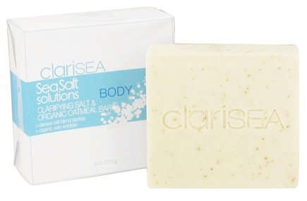 Zoom View - SeaSalt Solutions Clarifying Salt & Organic Oatmeal Bar for the Body