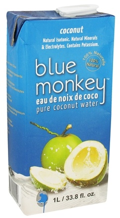 DROPPED: Blue Monkey - 100% Pure Coconut Water - 1 Liter
