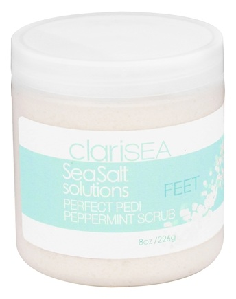Zoom View - SeaSalt Solutions Perfect Pedi Peppermint Scrub