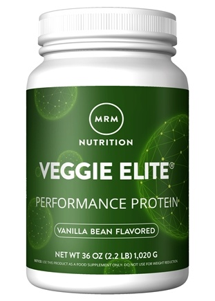 MRM - Veggie Elite All Natural Performance Protein Vanilla Bean - 2.2 lbs.