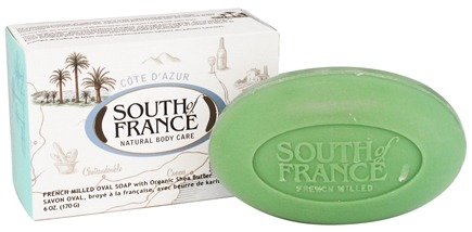 DROPPED: South of France - French Milled Vegetable Bar Soap Cote D'Azur - 6 oz.