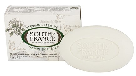 DROPPED: South of France - French Milled Vegetable Bar Soap Blooming Jasmine - 6 oz.