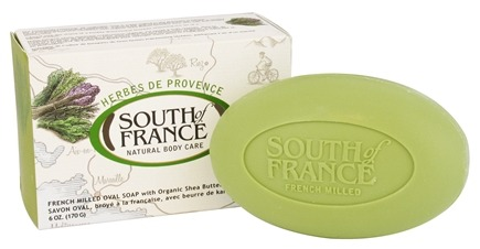 DROPPED: South of France - French Milled Vegetable Bar Soap Herbes De Provence - 6 oz.