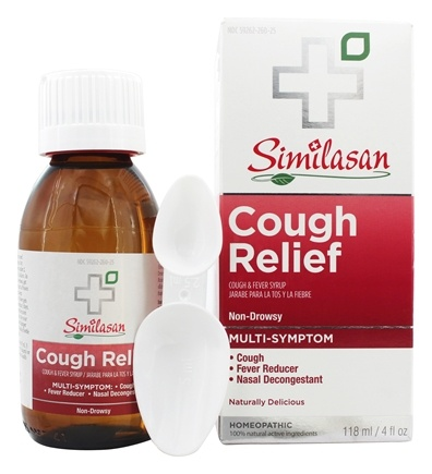 DROPPED: Similasan - Cough Relief Cough & Fever Syrup - 4 oz.