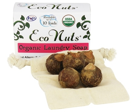 DROPPED: Eco Nuts - Organic Laundry Soap Nuts 10 Loads - 0.5 oz.