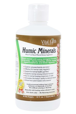 Vital Earth - Humic Minerals - 32 oz.