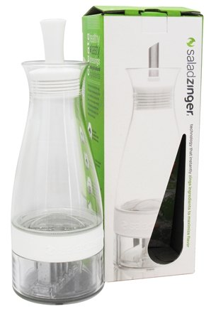 DROPPED: Zing Anything - Salad Zinger Dressing Infuser White - 10 oz.