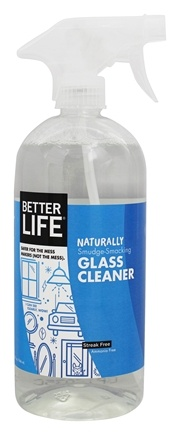 Better Life - Naturally Smudge-Smacking Glass Cleaner - 32 oz. Formerly I Can See Clearly, Wow!
