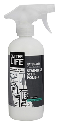 better life naturally stainless steel polish lavender u0026 chamomile 16 oz