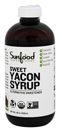 Sunfood Superfoods - Sweet Yacon Syrup - 8 oz.