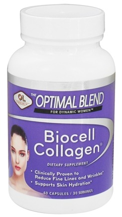 Olympian Labs - Optimal Blend For Dynamic Women Biocell Collagen - 60 Capsules