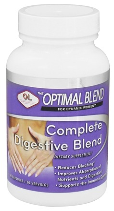 DROPPED: Olympian Labs - Optimal Blend For Dynamic Women Complete Digestive Blend - 60 Capsules
