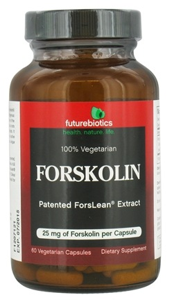 Futurebiotics - Forskolin 25 mg. - 60 Vegetarian Capsules