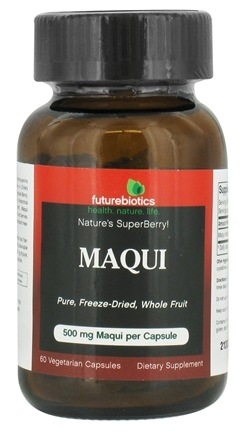 DROPPED: Futurebiotics - Maqui 500 mg. - 60 Vegetarian Capsules