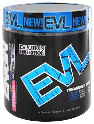 DROPPED: Evlution Nutrition - ENGN Pre-Workout Engine 30 Servings Watermelon - 6.3 oz.