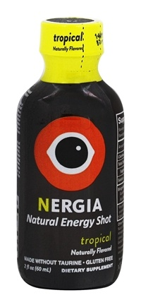 Nergia - Natural Energy Shot Tropical - 2 oz.