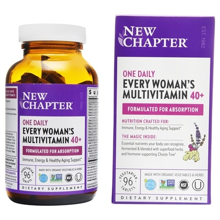 New Chapter - Every Woman's One Daily 40 Plus - 96 Tablets