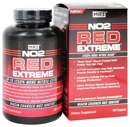 MRI: Medical Research Institute - NO2 Red Extreme - 150 Caplets