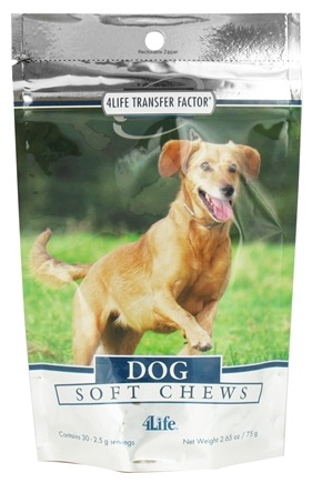 DROPPED: 4Life - Transfer Factor Dog Soft Chews - 30 Soft Chews CLEARANCE PRICED