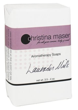 DROPPED: Christina Maser - Aromatherapy Bar Soap Lavender Milk - 3.5 oz.