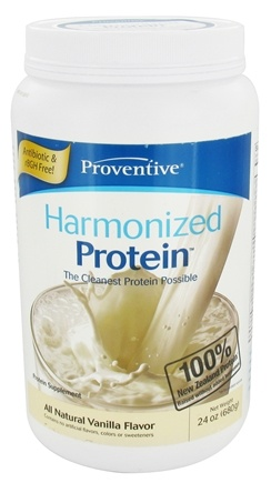 DROPPED: Proventive - Harmonized Protein All Natural Vanilla Flavor - 24 oz.