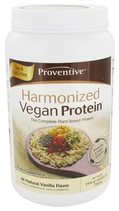 DROPPED: Proventive - Harmonized Vegan Protein All Natural Vanilla Flavor - 24.6 oz.