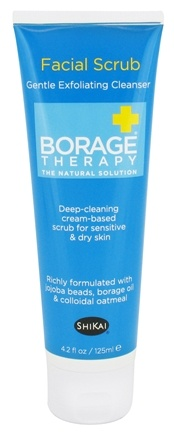 Zoom View - Borage Therapy Facial Scrub Gentle Exfoliating Cleanser