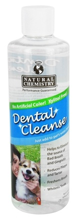 DROPPED: Natural Chemistry - Dental Cleanse For Dogs - 16 oz.