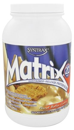 Syntrax - Matrix 2.0 Sustained-Release Protein Blend Peanut Butter Cookie - 2 lbs.