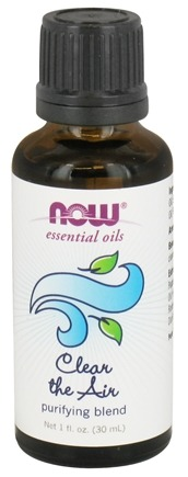 NOW Foods - Purifying Essential Oil Blend Clear the Air - 1 fl. oz.