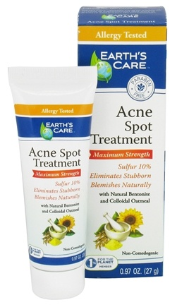DROPPED: Earth's Care - Acne Spot Treatment Maximum Strength - 0.97 oz.