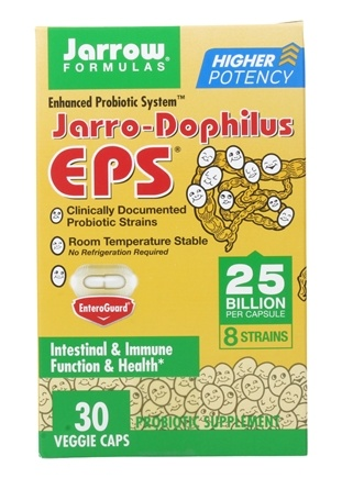 Jarrow Formulas - Jarro-Dophilus EPS Enhanced Probiotic System - 30 Capsules
