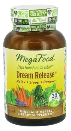 DROPPED: MegaFood - Dream Release - 30 Tablets