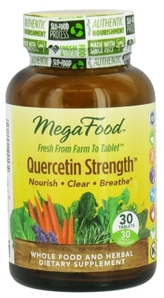 DROPPED: MegaFood - Quercetin Strength - 30 Tablets
