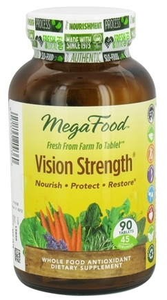DROPPED: MegaFood - Vision Strength - 90 Tablets