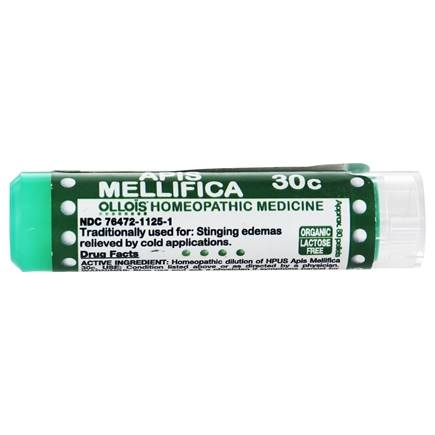 DROPPED: Ollois Homeopathic Medicine - Apis Mellifica 30 C - 80 Pellets