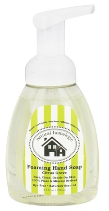 DROPPED: Natural HomeLogic - Foaming Hand Soap Citrus Grove - 8.5 oz.