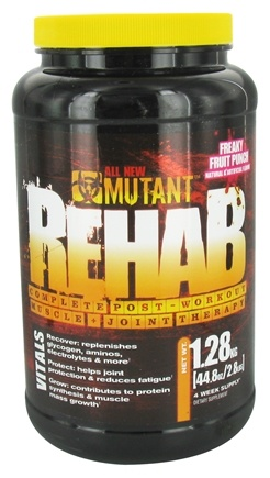 Mutant - Rehab Complete Post-Workout Muscle & Joint Therapy Freaky Fruit Punch - 1.28 kg.